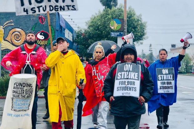 Six-Day Strike by LA Teachers
