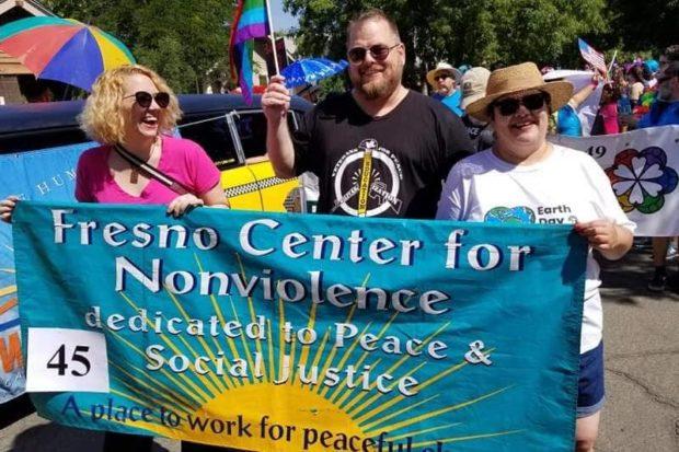 The Fresno Center For Nonviolence at the 2018 Pride Parade